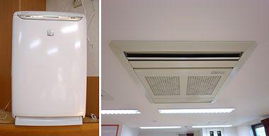 ダイキンの加湿機能付の空気清浄機